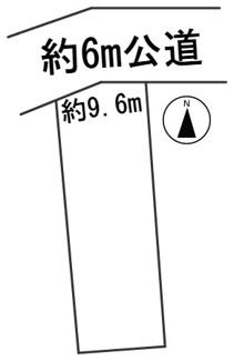 【区画図】56593 岐阜市日野南土地