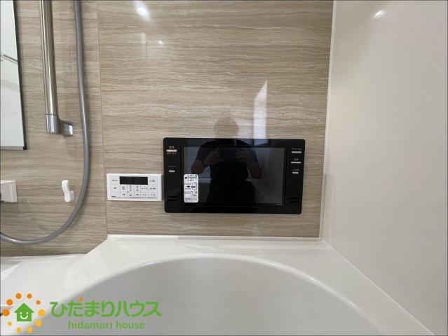 浴室にテレビ付き!楽しいバスタイムを過ごせます♪