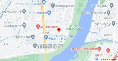 【地図】Kハイツ(ケーハイツ)