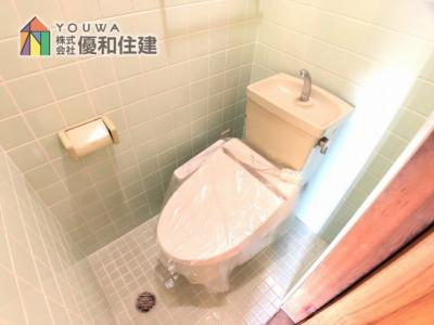 【トイレ】姫路市大津区天満 中古戸建
