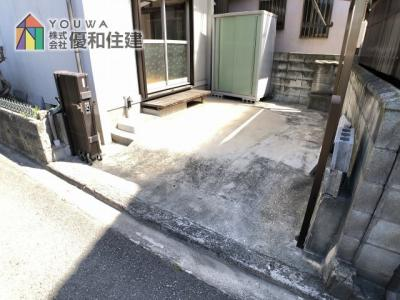 【駐車場】姫路市大津区天満 中古戸建