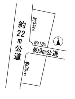 【区画図】56622 大垣市横曽根土地