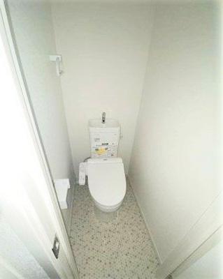 【トイレ】Villa Egret