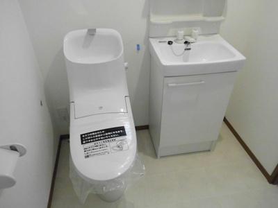 【独立洗面台】グランシャレー梅島Ⅱ