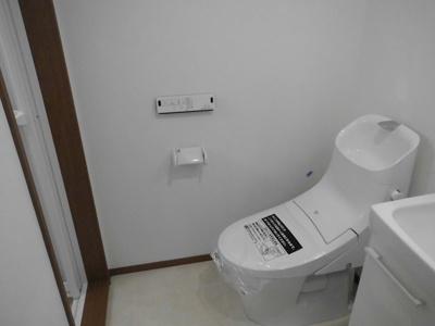 【トイレ】グランシャレー梅島Ⅱ