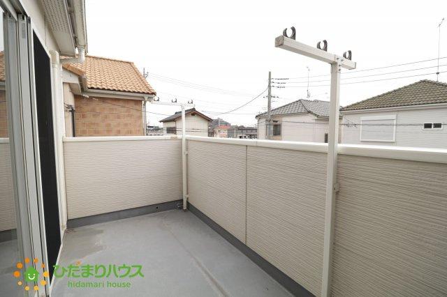【バルコニー】加須市南篠崎1丁目 中古一戸建て