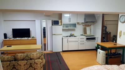 【居間・リビング】ライオンズマンション西新宿