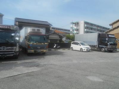 【外観】阪上トラック駐車場