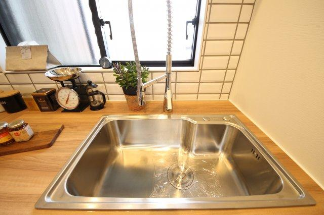 【キッチン】ライオンズマンション高宮第5
