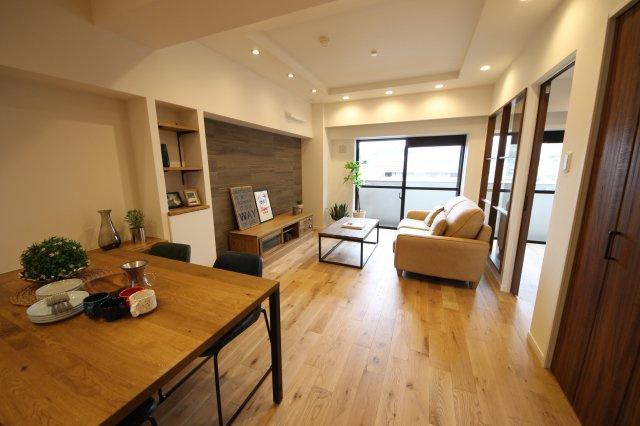 平尾駅から徒歩5分のマンション一室をフルリノベーション! 約52㎡の1LDKはお1人ならゆったり、お2人でもぴったりサイズ