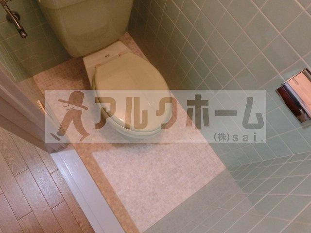エコーハイツ2(柏原市平野) トイレ