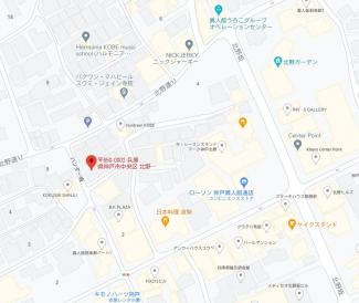 【地図】北野町3丁目 中古戸建