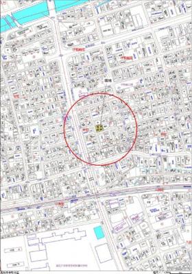 【地図】高知市幸町