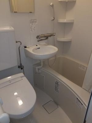 【浴室】スカイコート白楽第2