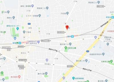【地図】ファーレ桜台