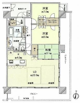 【居間・リビング】アトラス倉敷ル・サンク