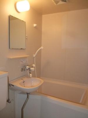 【浴室】コーポ倉形