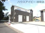 岐阜市黒野 新築建売全3棟 耐震等級3・住宅性能評価書を取得!お車スペース並列3台以上可能!の画像
