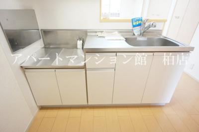 【キッチン】アンカンシェルヒルズⅡ