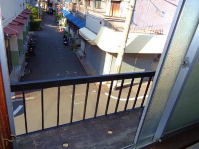 【バルコニー】住道矢田1テラスハウス
