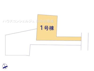 【区画図】名古屋市緑区桶狭間西116-2【仲介手数料無料】新築一戸建て