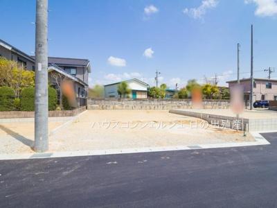 【前面道路含む現地写真】名古屋市緑区桶狭間西116-2【仲介手数料無料】新築一戸建て