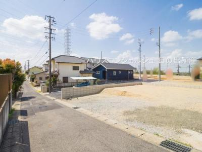 【外観】名古屋市緑区桶狭間西116-2【仲介手数料無料】新築一戸建て
