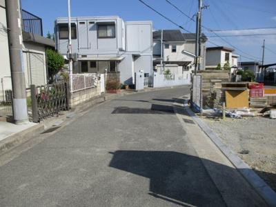 【前面道路含む現地写真】神戸市西区白水1丁目 新築戸建