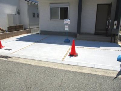 【駐車場】神戸市西区白水1丁目 新築戸建