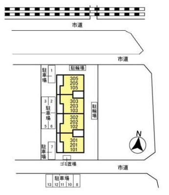 【区画図】ヴァンベールソフィア