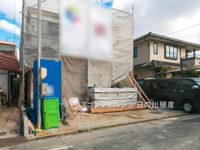 【外観】名古屋市南区戸部町3丁目32【仲介手数料無料】新築一戸建て 1号棟