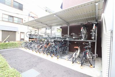 【駐輪場】ステージグランデ早稲田