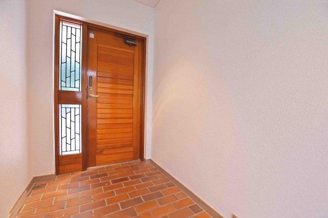 ゆとりのある、玄関スペースです。