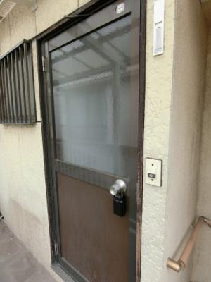 【玄関】サンコーポハヤカワ