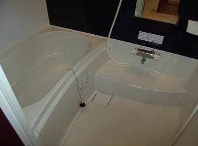 追い焚き・浴室乾燥機付バス。