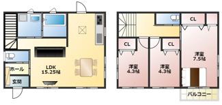 岐阜市六条東 新築建売全1棟 敷地は少し狭いですがお車スペース2台可能!岐阜駅まで22分の立地の良さ