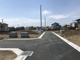 2021年4月9日 正午ごろ撮影 開発道路