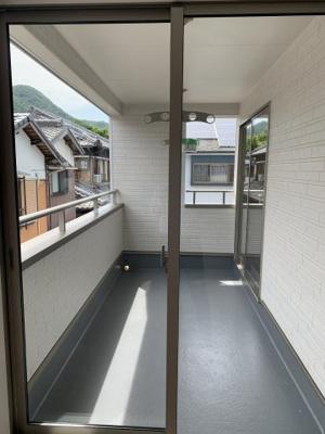 【バルコニー】野村町新築限定1区画