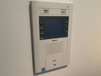 TVモニター付きインターホンで来客も安心