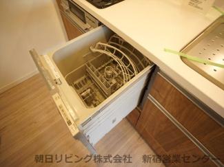 共働き世帯には欠かせないビルトイン食洗器。
