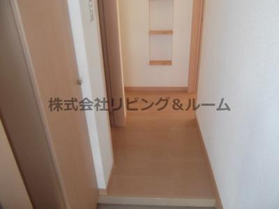 【玄関】グランピアコーポ・B棟