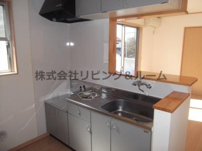 【キッチン】グランピアコーポ・B棟