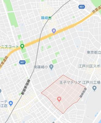 【地図】モントルー