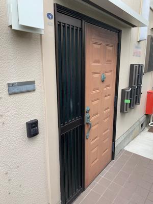 【玄関】スカイハイツ