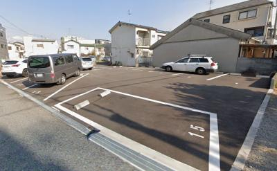 【外観】豊南町南6丁目アスファルト駐車場
