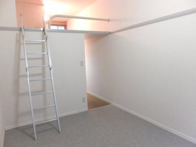 カーペット仕様でシンプルな造りのお部屋です