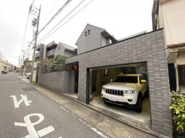 【外観】円上の家