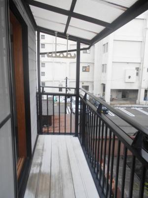 2階南向きバルコニー