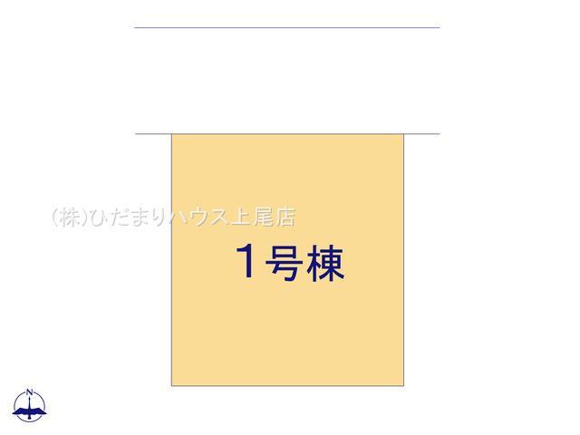 【区画図】鴻巣市榎戸 1期 新築一戸建て 01