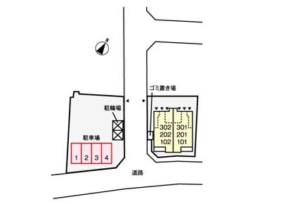 【区画図】フルール